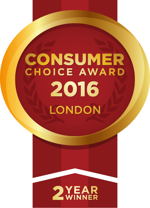 Consumer Choice Award 2015 London