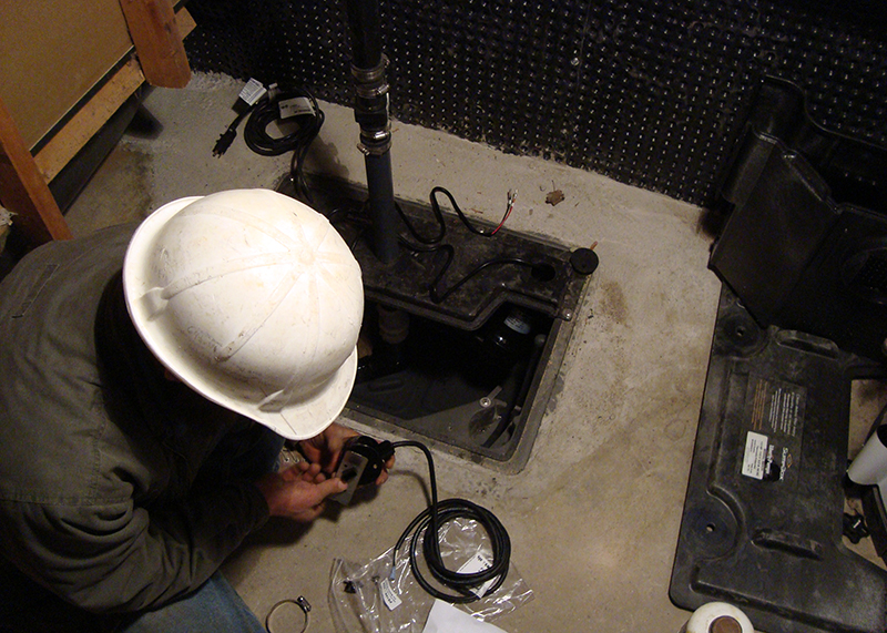 Basement Boss - Internal Water Control Systems