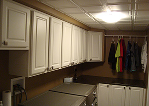 New Custom Laundry Room