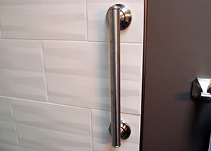 Custom Tile Shower Install w/ Grab-bar